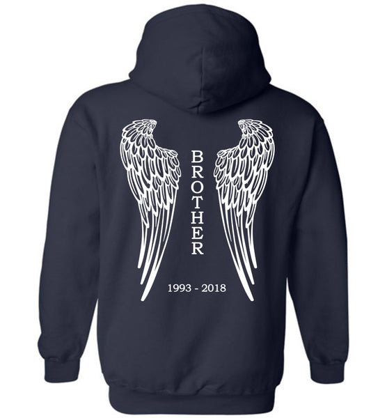 Brother 1993-2018 Pullover Hoodie
