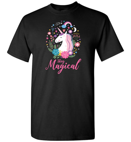 Unicorn Unisex Adult and Youth T-Shirt - Stay Magical