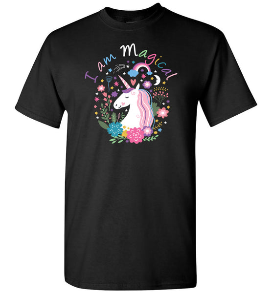 Unicorn Unisex Adult and Youth T-Shirt - I am Magical