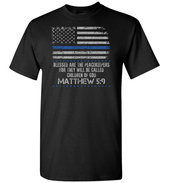 Matthew 5:9 Blessed Are The Peacemakers Unisex Tee (CK1209)
