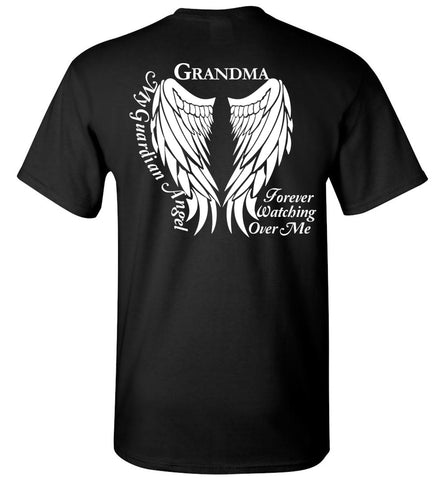 Grandma Guardian Angel Unisex T-Shirt - Memorial T-Shirt