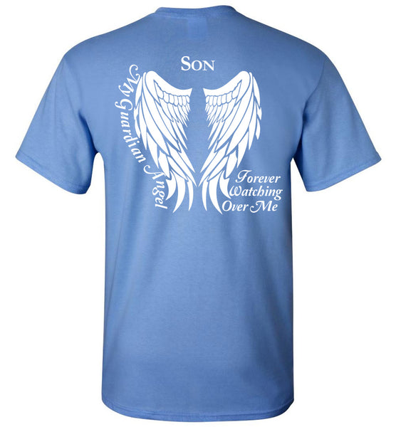 Son Guardian Angel Forever Watching Over Me - Unisex Tee