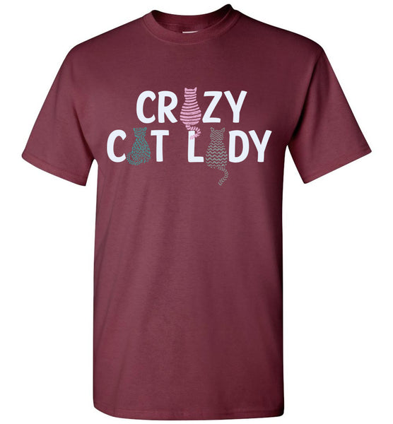 Crazy Cat Lady Unisex Tee