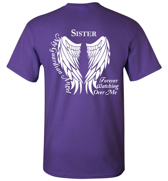 Sister Guardian Angel Unisex Tee