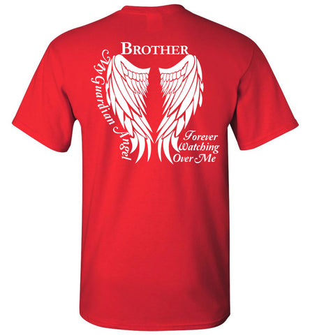 745d8d5b Brother Guardian Angel Unisex T-Shirt