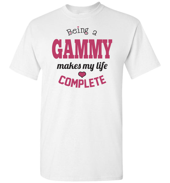 Being a Gammy Makes My Life Complete Unisex Tee