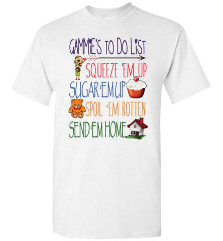 Gammie's To Do List Unisex T-Shirt