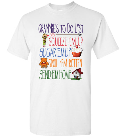 Grammies ToDo List Unisex T-Shirt