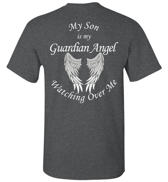 My Son Is My Guardian Angel Memorial Unisex T-Shirt