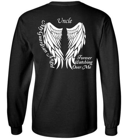 Uncle Guardian Angel Long Sleeve T-Shirt