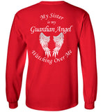 Sister Guardian Angel Long Sleeve Unisex T-Shirt