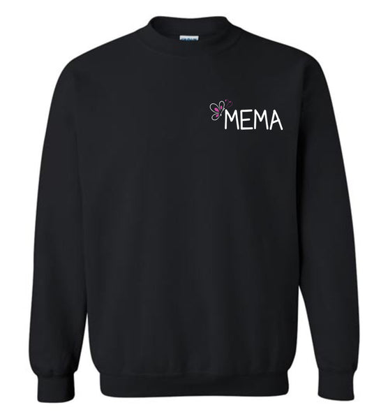 Being a Mema Makes My Life Complete - Crewneck Sweatshirt