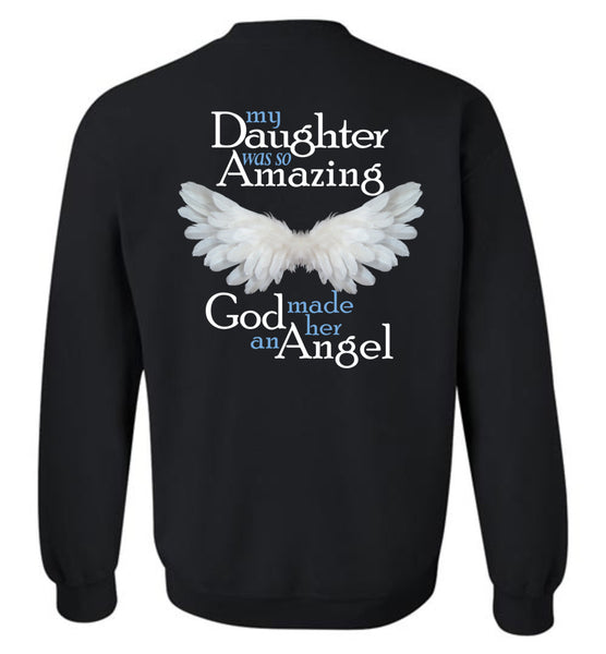 Daughter Amazing Angel Sweatshirt
