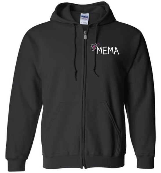 Being a Mema Makes My Life Complete - Zipper Hoodie Jacket