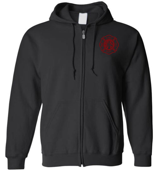 HAGAN Firefighter Zipper Hoodie