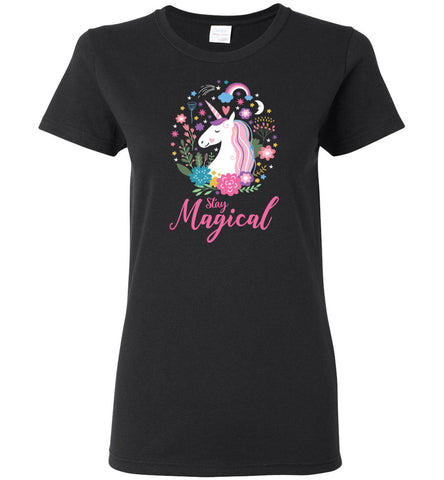 Unicorn Ladies T-Shirt - Stay Magical