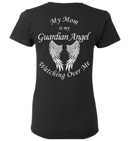 Mom Guardian Angel Ladie T-Shirt