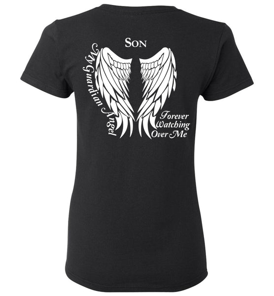 Son Guardian Angel Ladie T-Shirt