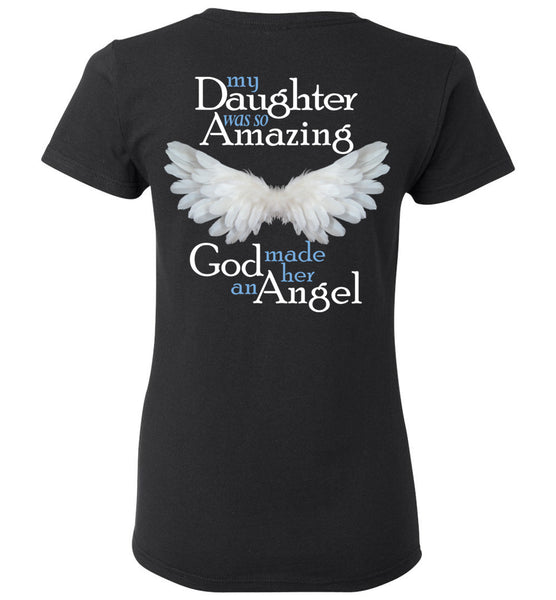 Daughter Amazing Angel Ladies Tee