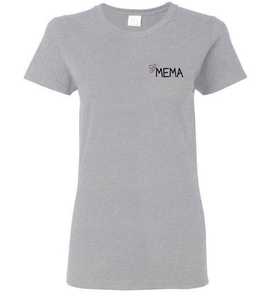 Being a Mema Makes My Life Complete - Ladies Mema T-Shirt