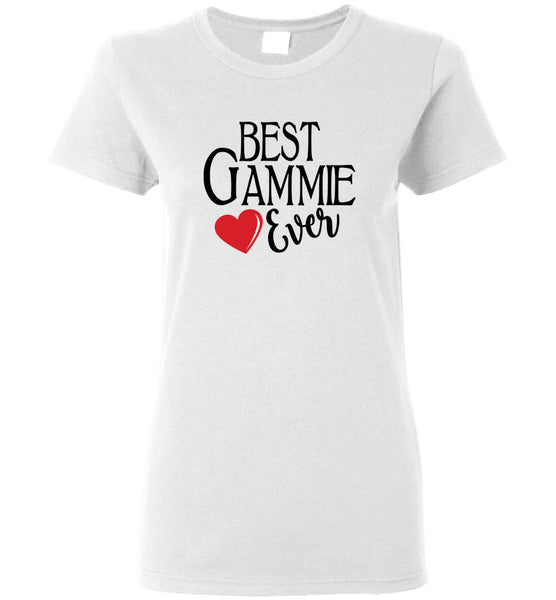Best Gammie Ever Ladies T-Shirt