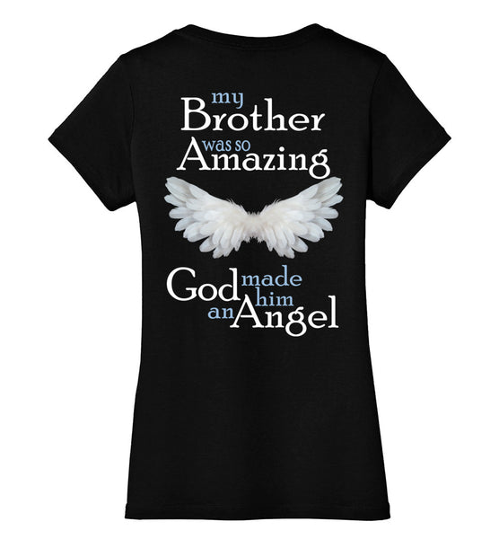 Brother Amazing Angel District Made Ladies Perfect Weight V-Neck