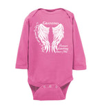 Grandma Guardian Angel Infant Long Sleeve Bodysuit