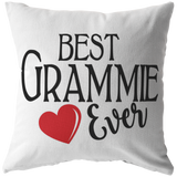 Best Grammie Ever Throw Pillow