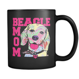 Beagle Mom Coffee Mug 11oz Black Mug