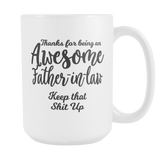 Awesome Father in Law - Father in Law Gift Coffee Mug
