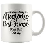 Awesome Best Friend 11 oz White Coffee Mug
