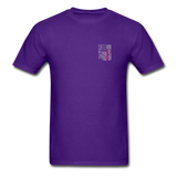 Nurse Flag Gildan Ultra Cotton Adult T-Shirt (CK1213) - purple