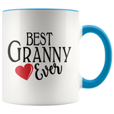 Best Granny Ever 11 oz Accent Coffee Mug