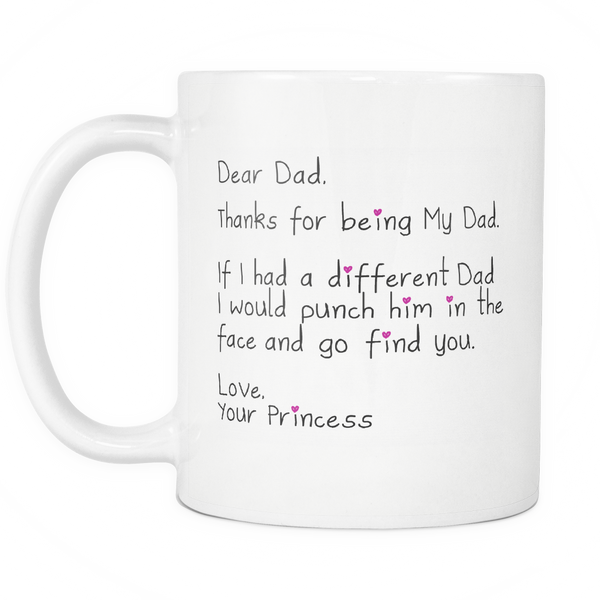 Dear Dad - Coffee Mug 11oz