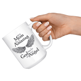 Mom Amazing Angel 15 oz White Coffee Mug