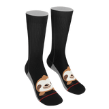 Sleepy Sloth Socks - Socks for Sloth Lovers