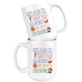 GiGi's ToDo List 15 oz White Coffee Mug