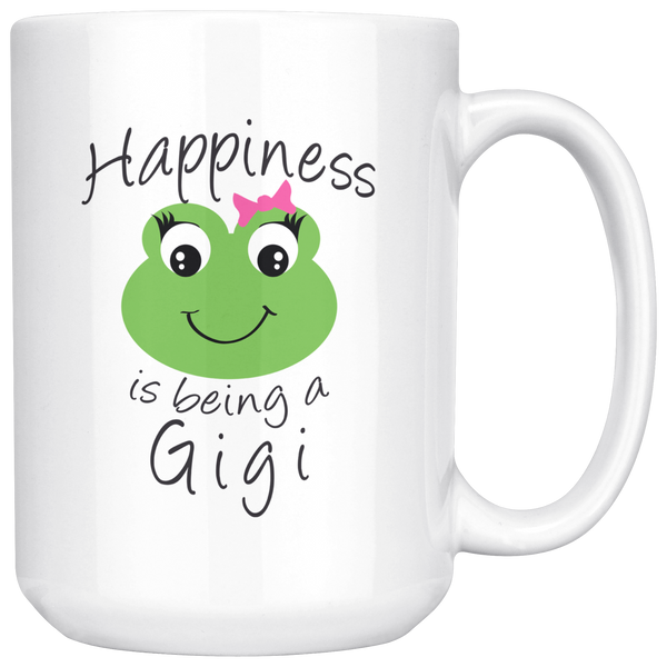 Happiness is being a Gigi 15 oz Coffee Mug
