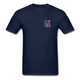 Nurse Flag Gildan Ultra Cotton Adult T-Shirt (CK1213) - navy