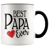 Best Papa 11 oz Accent Coffee Mug