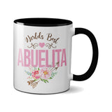 Worlds Best Abuelita Coffee Mug - Gift for Abuelita Birthday, Mothers Day Gift