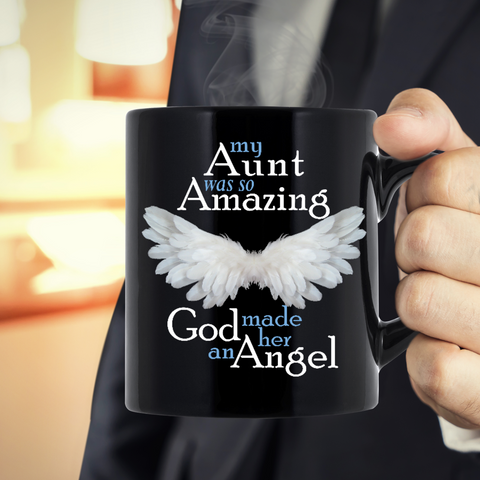 My Aunt Amazing Angel Mug