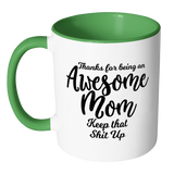 Awesome Mom Coffee Mug - Gift for Mom from son or daughter