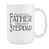 Stepdad 11oz Coffee Mug - Fathers Day Gift for Stepdad