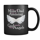 My Mom and Dad Were So Amazing God Made Them Angels - Memorial Coffee Mug