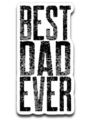 Best Dad Ever Decal