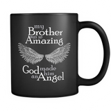 Brother Amazing Angel - Memorial Brother Coffee Mug