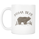 Mama Bear Papa Bear Coffee Mugs 11 oz