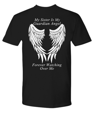 Sister Guardian Angel - Unisex T-Shirt