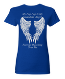 Pop Pop Guardian Angel Women's T-Shirt